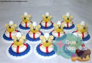 cupcake Urso Marinheiro