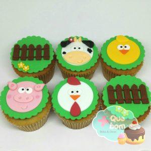 cupcake fazendinha