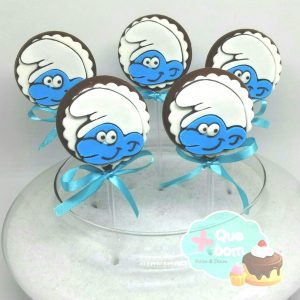 pirulito Smurfs