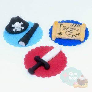 cupcake pirata