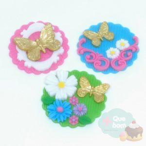 cupcake borboleta