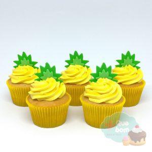 cupcake abacaxi