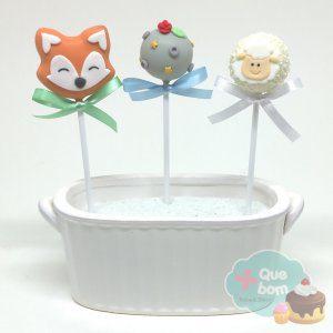 cakepop pequeno principe