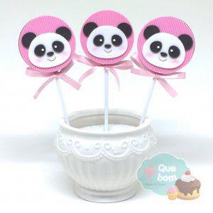 pirulito panda