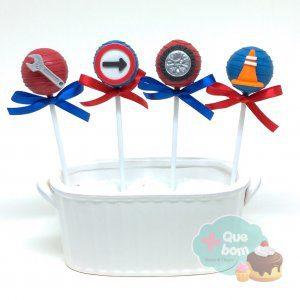 cakepop hot wheels