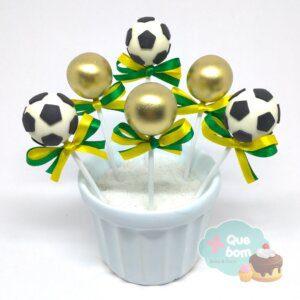 cakepop futebol